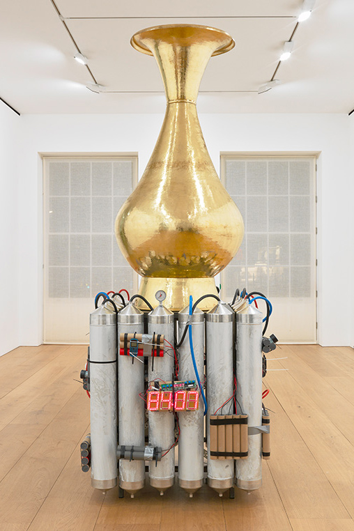 Artist Adel Abdessemed show at David Zwirner Gallery