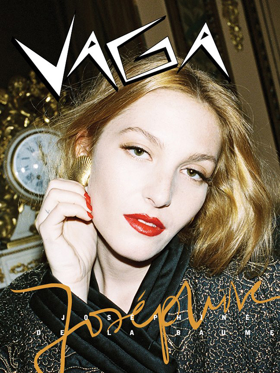 Joséphine de la Baume for VAGA magazine by Alex Brunet