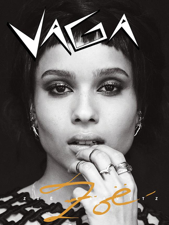 Zoë Kravitz for VAGA magazine by Robert Nethery