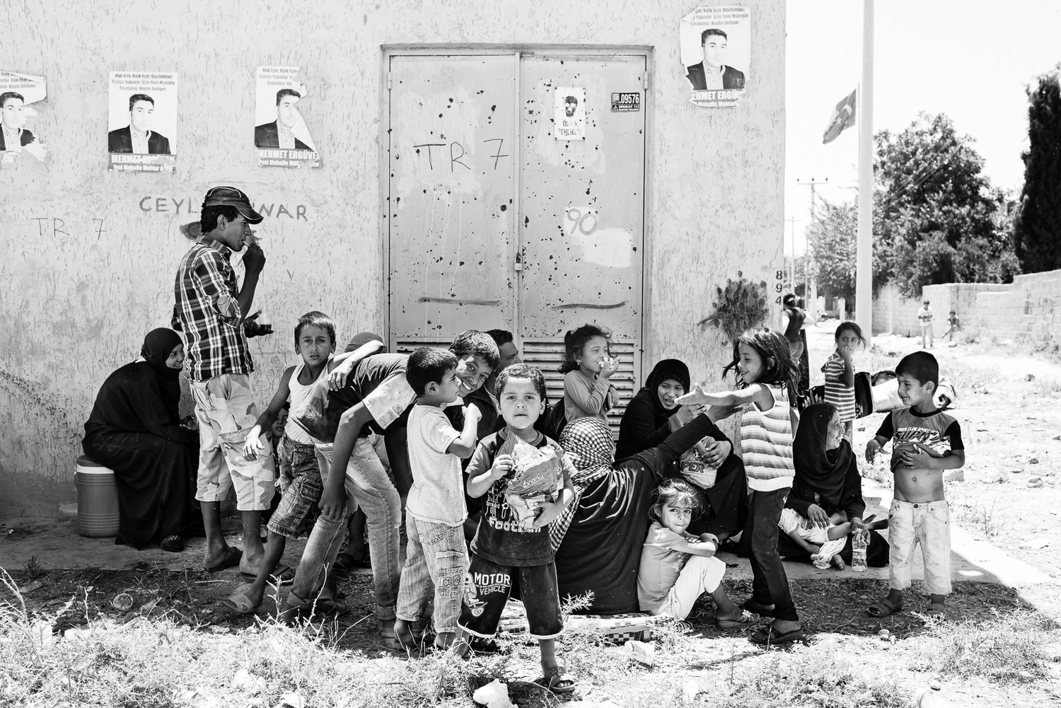 syrian refugees giulio magnifico