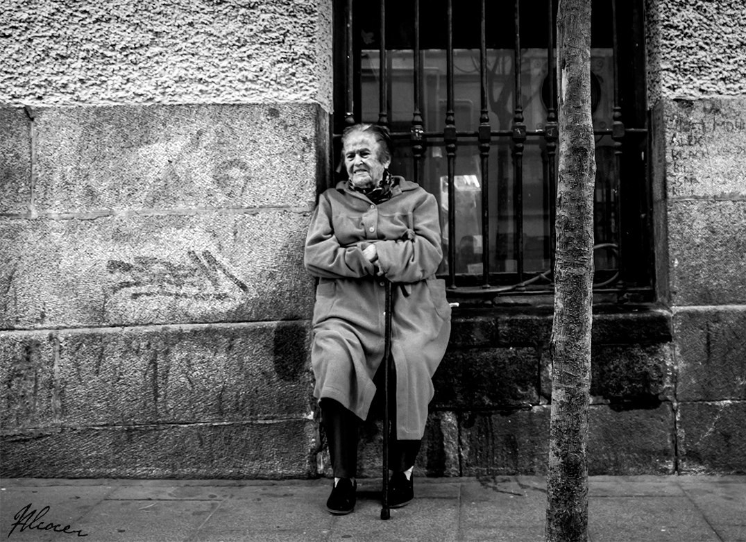 Alberto Alcocer Madrid photography The Catastrophe of Homelessness