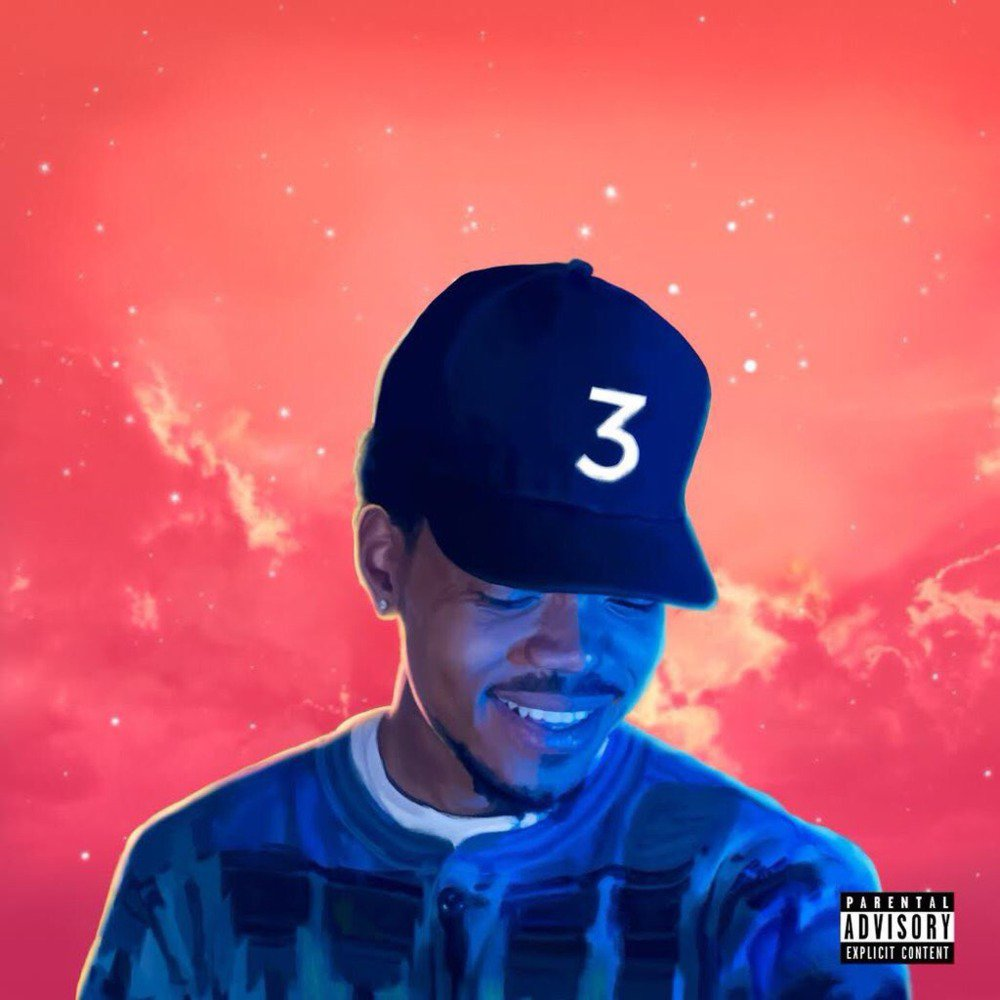 Chance The Rapper - Coloring Book cover