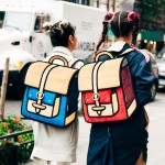 "Vibrant '2D' Cartoon-Style Bags for ""Big City Girls"""