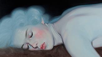 Kris Knight Paintings _ New York art galleries