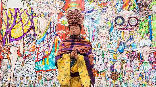 Takashi-Murakami-Gagosian-NYC-Rainbow-AM-291
