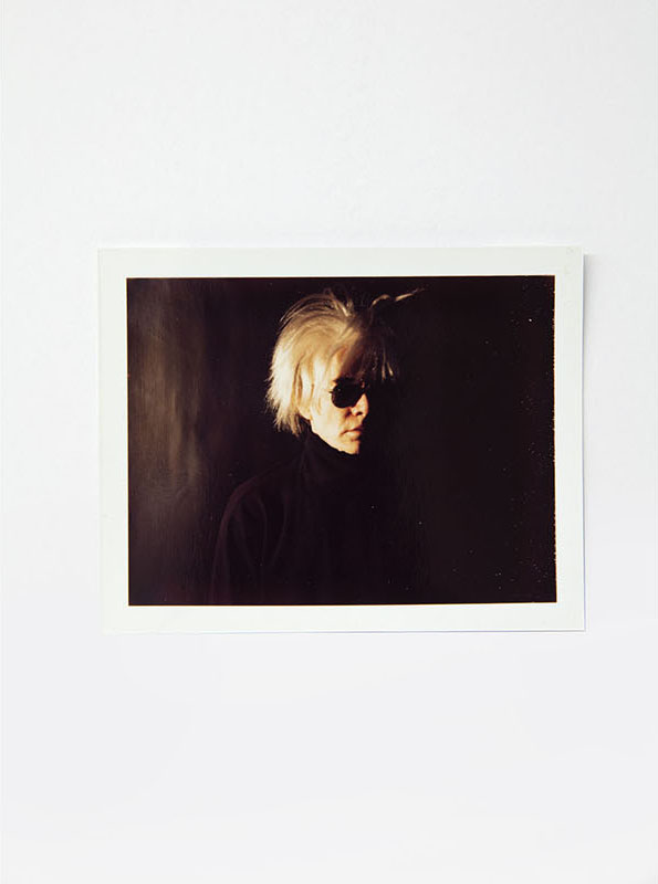 andy warhol photography polaroid